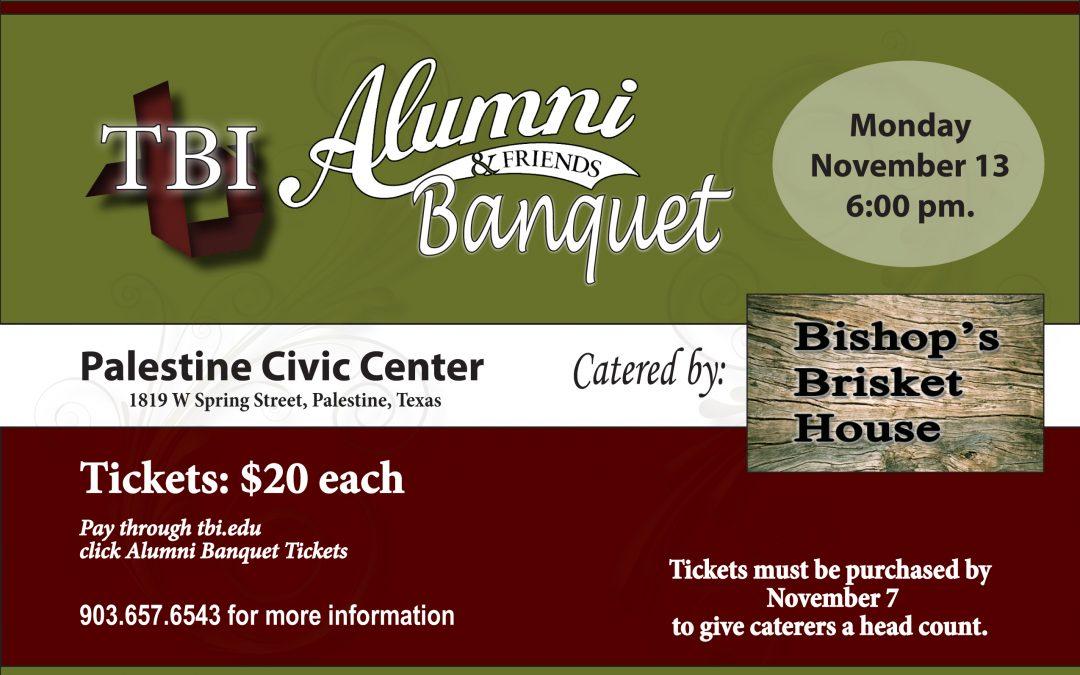 TBI Alumni Banquet