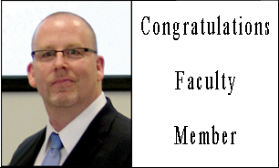 Congratulations Faculty Member